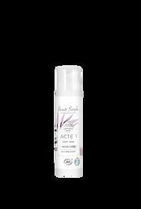 Cosmétique professionnel bio Beauté Simple : Crème hydratante fluide.