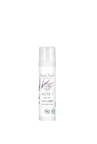 Cosmétique professionnel bio Beauté Simple : Crème hydratante confort.