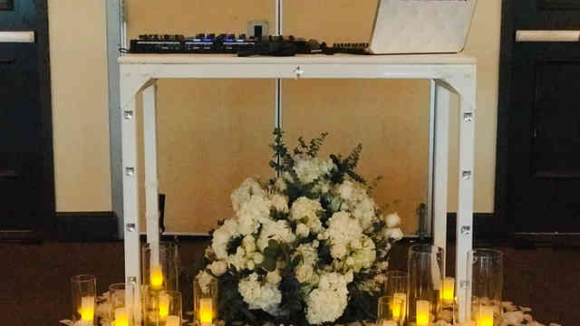 Custom DJ booth