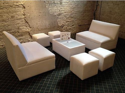 Furniture - Plain white