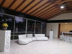 Choza - interior