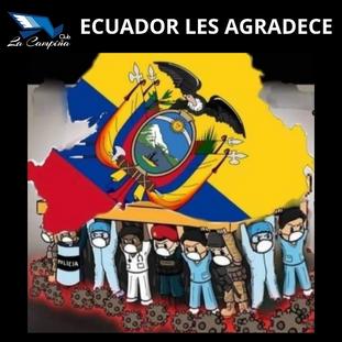 ECUADOR LES AGRADECE A NUESTROS HÉROES