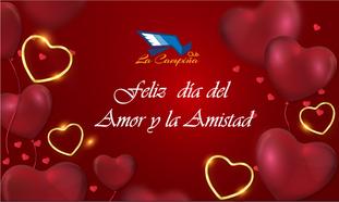 El Club La Campiña les desea a sus distinguidos socios, un Feliz Día del Amor y la Amistad
