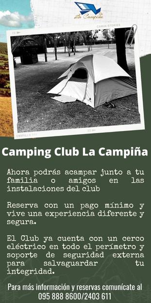 El Club La Campiña informa a sus queridos socios.