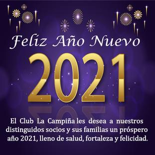 El Club La Campiña les envía un cordial saludo en estas festividades.
