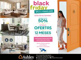 DISFRUTA EL BLACK FRIDAY EN ASHLEY