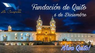 Saludo Fundación de Quito