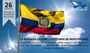 El Club La Campiña recuerda con patriotismo y civismo el día de la Bandera Nacional del Ecuador