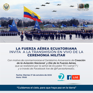 Invitación Ceremonia Militar