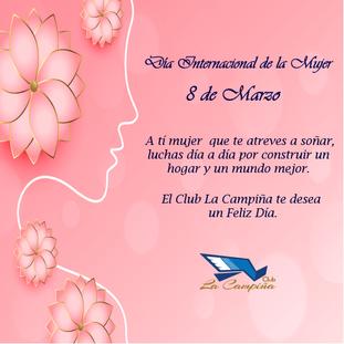 El Club La Campiña les desea a todas las mujeres un Feliz Día