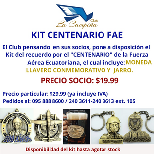 KIT CENTENARIO FAE