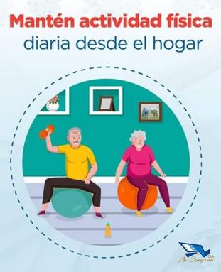 Quédate en casa- mantén actividad física desde tu hogar