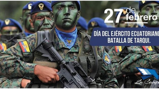 DÍA DEL EJÉRCITO ECUATORIANO Y BATALLA DE TARQUI
