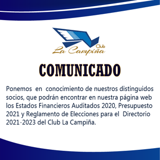 El Club La Campiña te informa