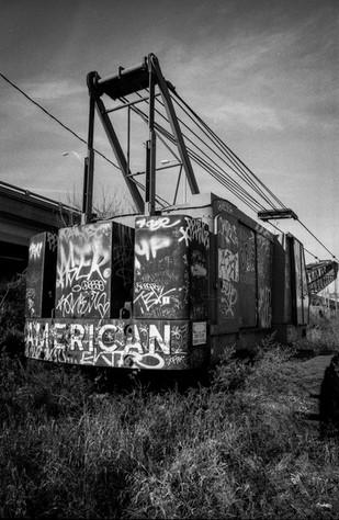 abandoned crain
