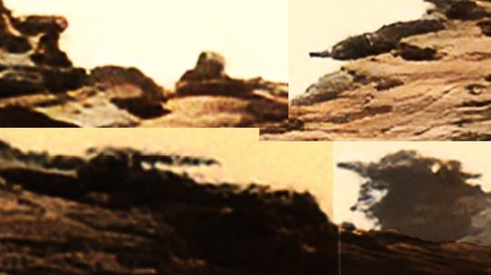 Communication Devices Atop a Butte