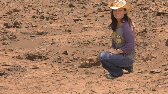 Sizing Up the Ruins on Mars