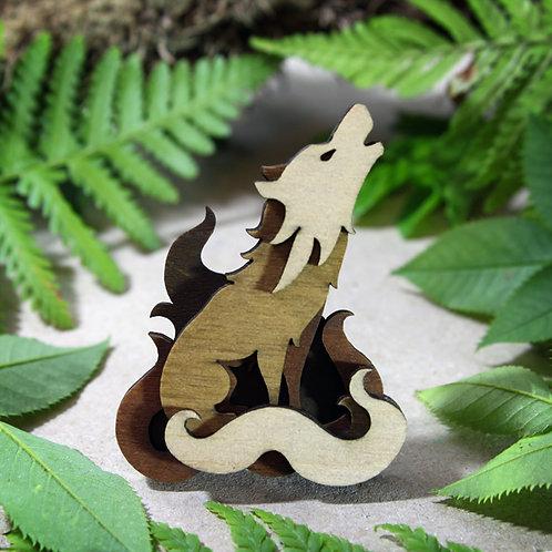 Woodland Wolf