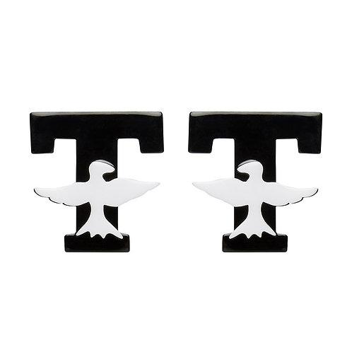 T Birds Earrings