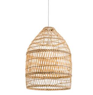 Rattan Pendant - inc. bulb