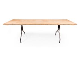 Timber Folding Table - $25