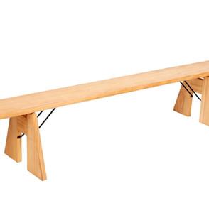 Natural Pine Bench