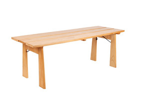 Natural Wooden Table - $40