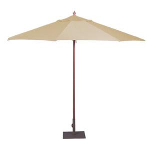 Tan Parasol - Large (3m Diameter)
