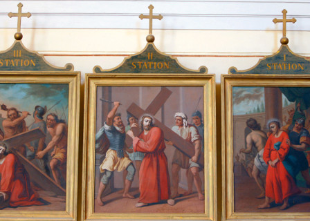 Las Estaciones de la Cruz con San José
