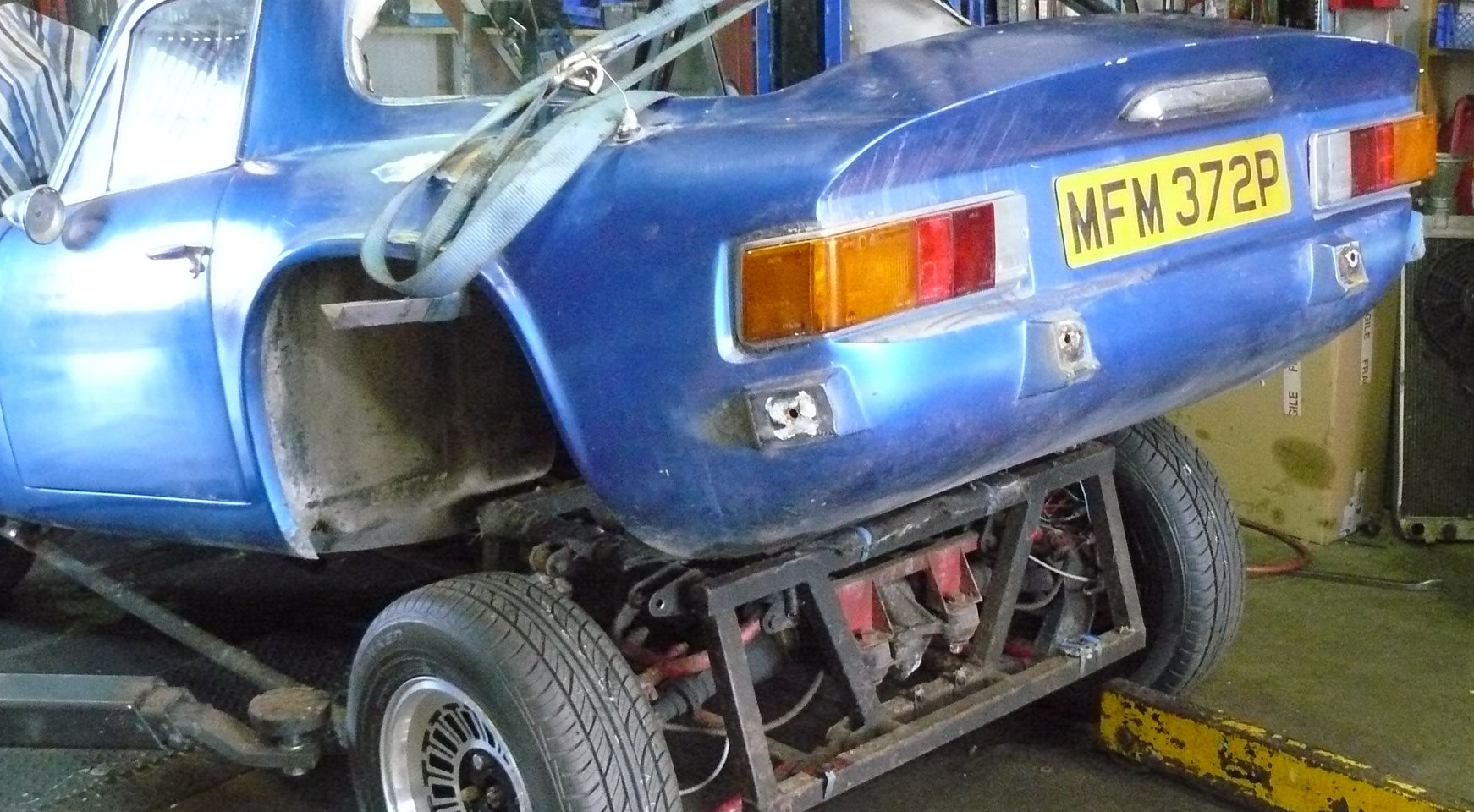 TVR 3000M BODY OFF