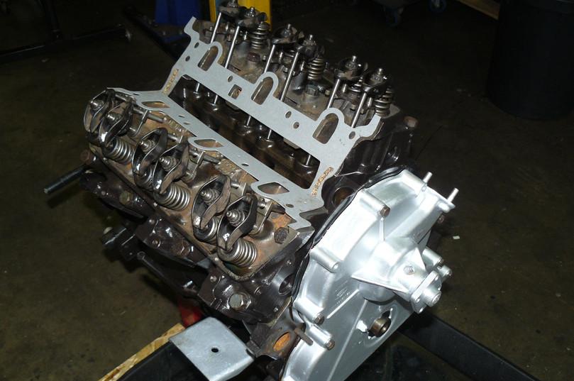 TVR ENGINE RE-BUILD