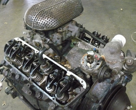 REMOVE TVR ENGINE