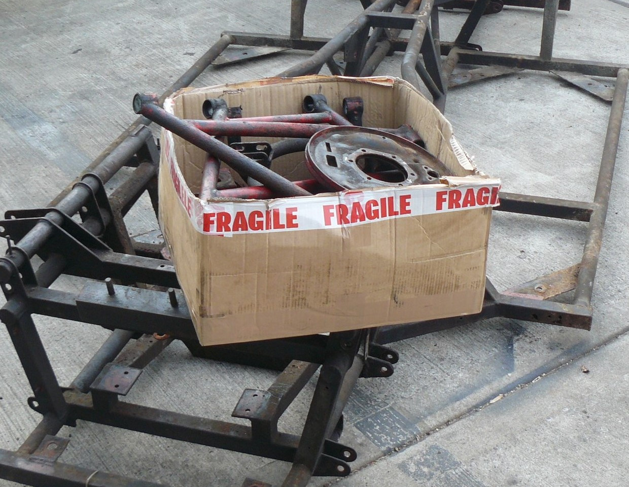 TVR 3000M CHASSIS STRIPPED