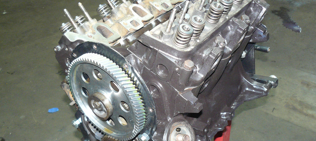 TVR ESSEX ENGINE STRIPPED