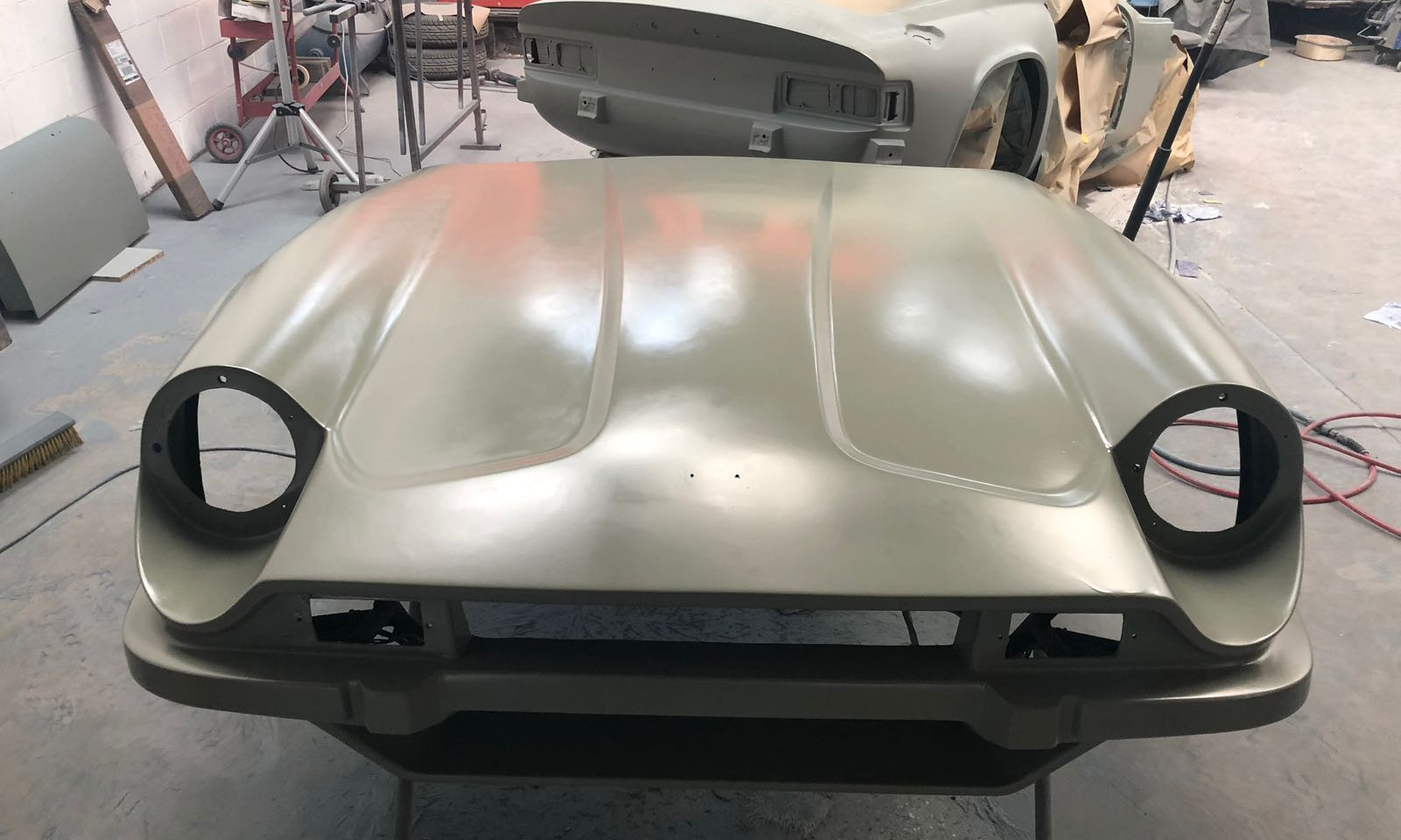 TVR 3000M PAINT PREPARATION