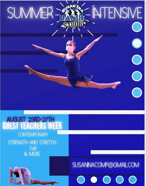 CHECK OUT OUR SUMMER INTENSIVE!