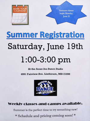 Come join us in the summer!