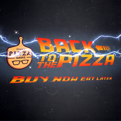 Back to the Pizza pre-pay card