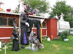 August Halloween at Renfrew Camping