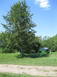 Renfrew Camping rental tent