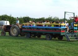 Renfrew Camping hay wagon ride