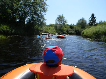 Renfrew Camping river rafting