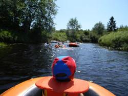 Renfrew Camping river rafting