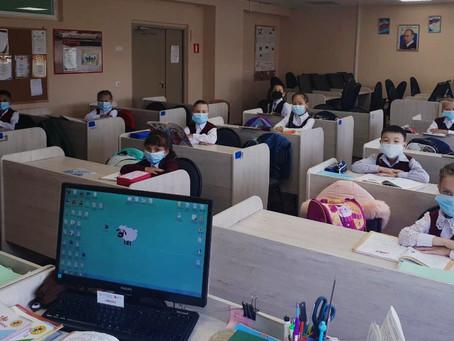 2 сентября в МАОУ СОШ №8  в начальных классах прошли уроки здоровья