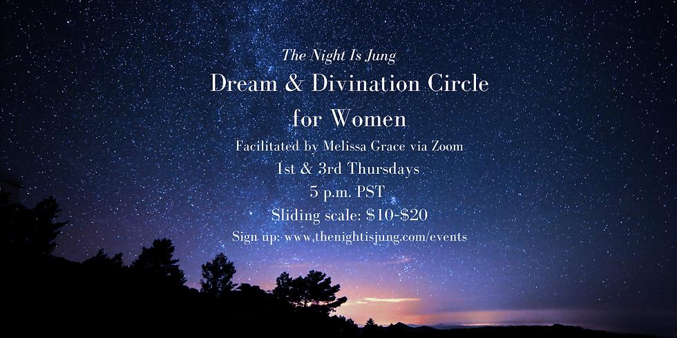 Online Divination & Dream Circle  for Women