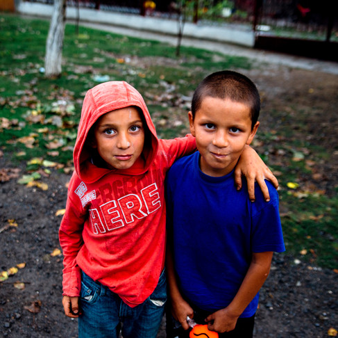 Diving into the Archive: Two boys from Timiș County.