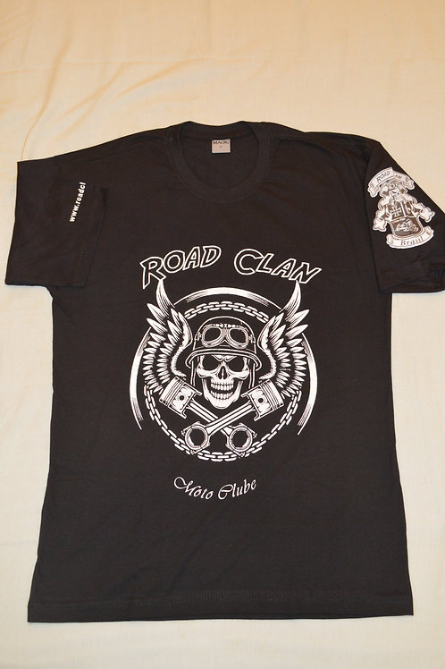 Camisa Road Clan Manga Curta