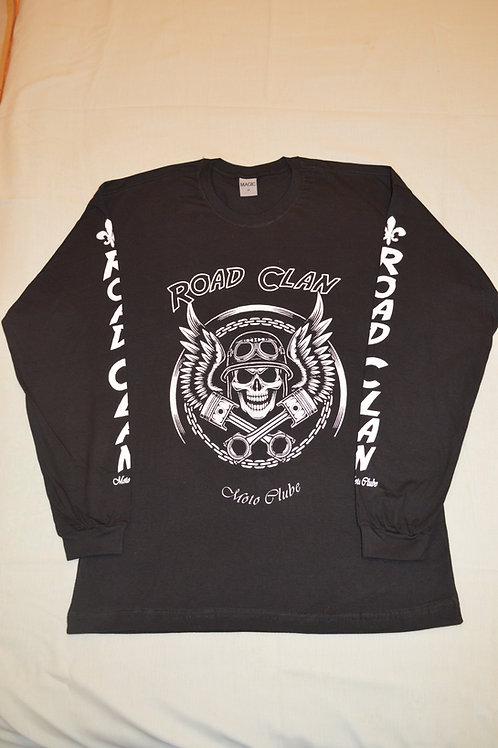 Camisa Road Clan Manga Longa