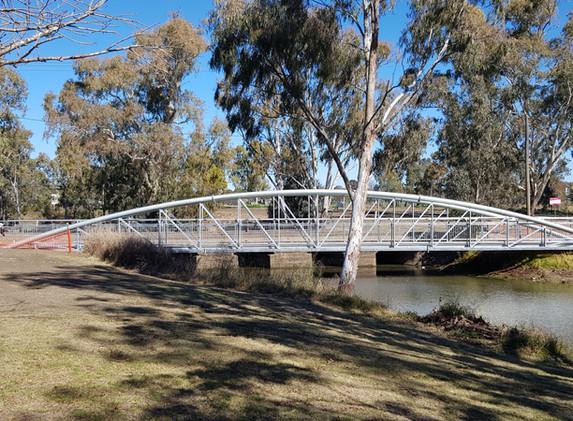 Coombes Bridge Installed