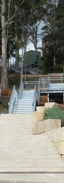 Bridges Hill Park Access Stairs